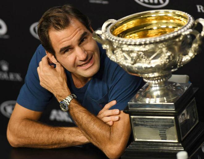"""Federer 36 tuổi vô địch thiên hạ: Ăn """"thần dược"""" gì để trường sinh? - 1"""