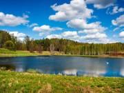 """Ngất ngây tại  """" vùng đất ngàn hồ """"  rợp một màu xanh mát lịm"""