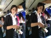 """Sự thật về  """" Người bán vé xinh đẹp ngọt ngào nhất """"  Thái Lan"""