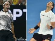 """Bảng xếp hạng tennis 26/2: Federer  """" xanh mặt """"  vì Nadal, ngôi hậu đổi chủ"""