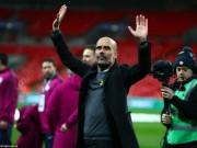 Man City có danh hiệu đầu tiên: Guardiola  chê  League Cup, chờ ẵm C1