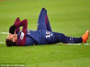 """Neymar chấn thương cực nặng, PSG hoảng hốt, Real - Ronaldo  """" cười mỉm """""""