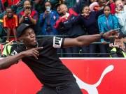 Usain Bolt ký hợp đồng đá bóng: Đến Ngoại hạng Anh đấu MU?