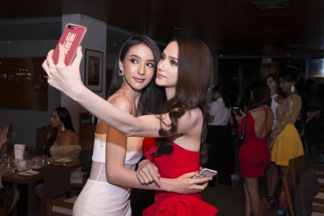 Hương Giang Idol lần đầu đụng độ nữ thần chuyển giới Thái Lan - 5