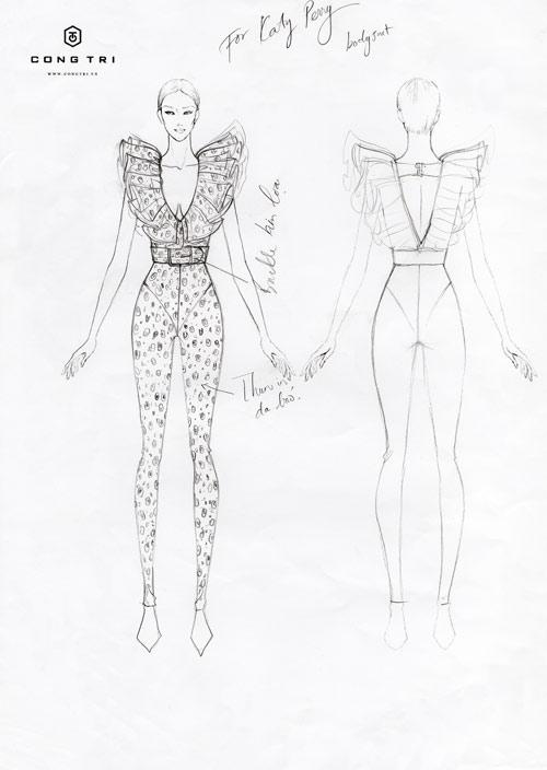 Nữ ca sĩ Katy Perry tiếp tục chọn đồ của NTK Công Trí - 2
