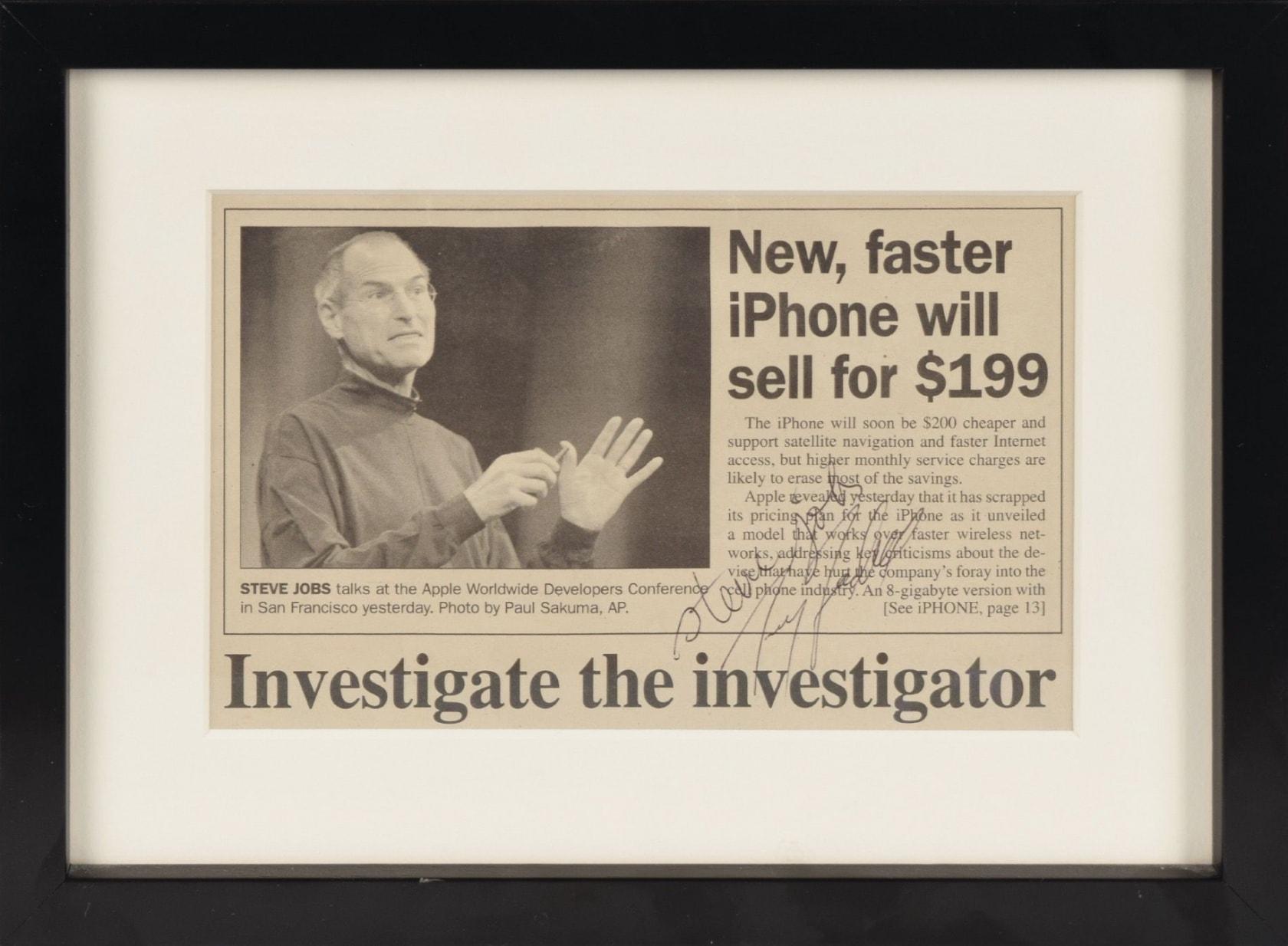 Đơn xin việc đầy lỗi chính tả của huyền thoại Steve Jobs được đấu giá cao ngất ngưởng - 2