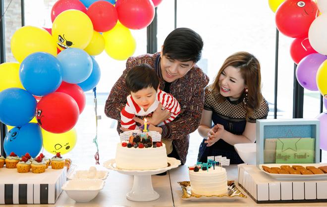 Đan Trường tổ chức sinh nhật cho con tại biệt thự triệu đô - 1