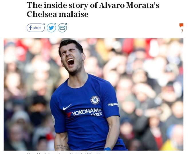 """Morata 75 triệu bảng: """"Ngon giai"""" nhưng quá yếu ở Ngoại hạng Anh - 2"""