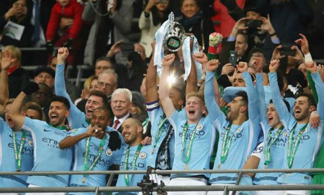 """Pep – Man City có danh hiệu đầu: Mơ ăn 3 để """"cười vào mũi"""" MU - Mourinho - 2"""