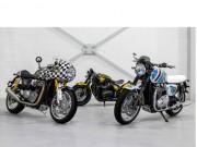 """Lạ mắt với  """" bộ ba siêu đẳng """"  đến từ Triumph Motorcycles"""