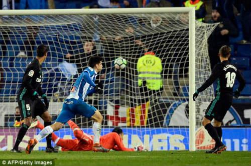 Chi tiết Espanyol - Real Madrid: Phút bù giờ oan trái (KT) - 3