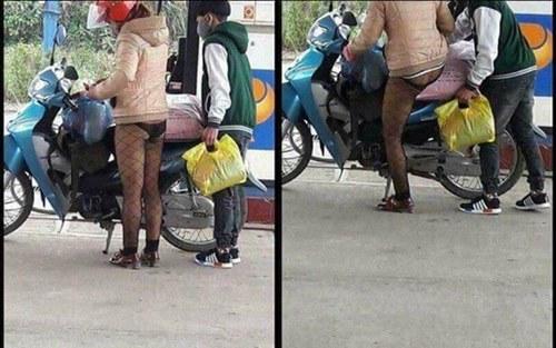 Xin chị em chớ hớ hênh khi mặc quần tất ra đường! - 2