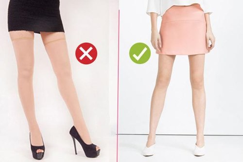 Xin chị em chớ hớ hênh khi mặc quần tất ra đường! - 5
