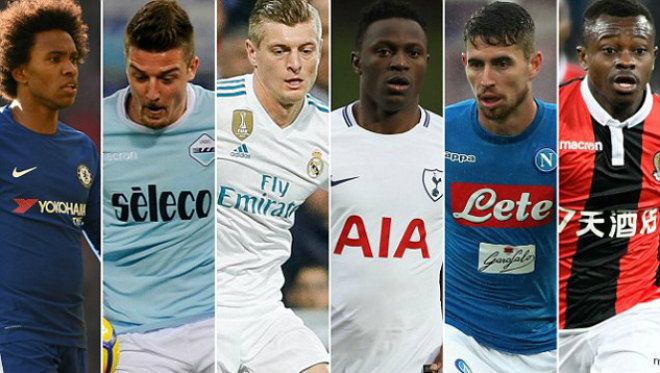 MU thay Carrick & Fellaini: Mourinho nhắm 6 SAO bự 260 triệu bảng - 1
