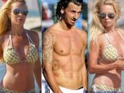 """Vợ siêu mẫu của  """" gã điên sân cỏ """"  Zlatan Ibrahimovic ngày càng tàn tạ"""