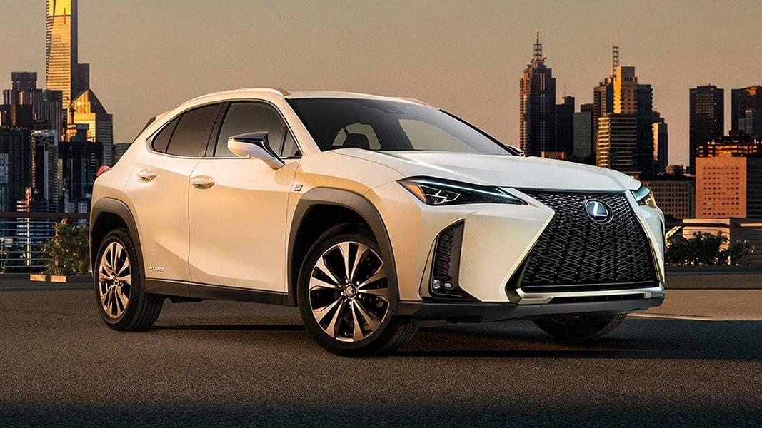 Lộ diện những hình ảnh đầu tiên của Lexus UX 2018 - 1