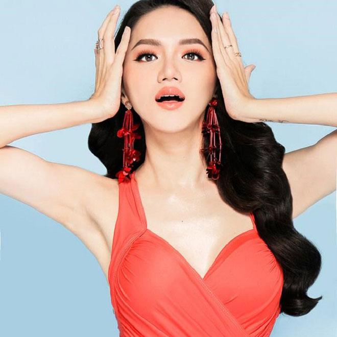 """Hương Giang Idol và """"nữ thần chuyển giới Thái Lan"""": Ai mặc áo tắm sexy hơn? - 5"""