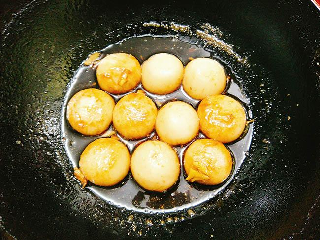 Rằm tháng Giêng làm bánh chay rim đường cúng Nguyên tiêu - 7