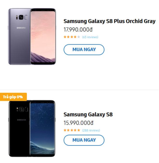 NÓNG: Samsung Galaxy S8, S8+ giảm mạngc 2,5 triệu cùng - 2