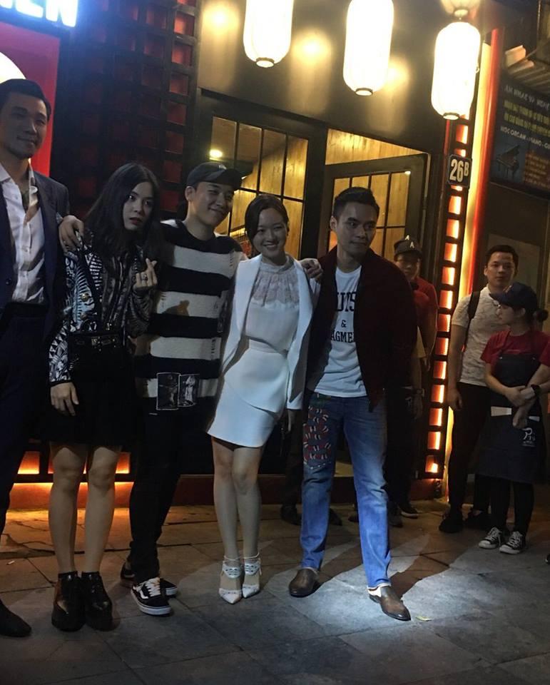 Thành viên Big Bang bí mật đến Hà Nội chuẩn bị khai trương nhà hàng - 1