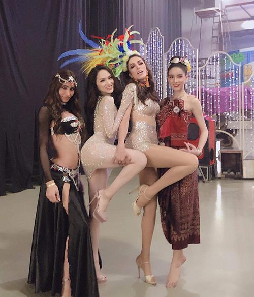 Hành động khôn ngoan của Hương Giang Idol tại Hoa hậu Chuyển giới Quốc tế - 3