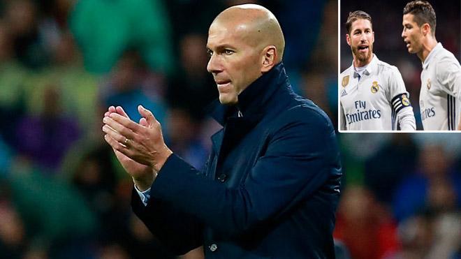 """Real nổi sóng: Ronaldo & Ramos """"dạy khôn"""" Zidane, xử """"kẻ nổi loạn"""" - 1"""