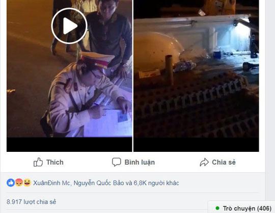 """Đình chỉ CSGT rọi đèn pin, """"vung tay"""" với người quay phim - 3"""