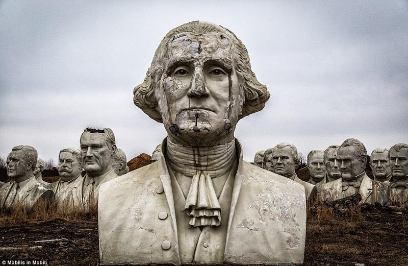 43 tượng Tổng thống Mỹ hơn 130 tỉ bị bỏ hoang - 1