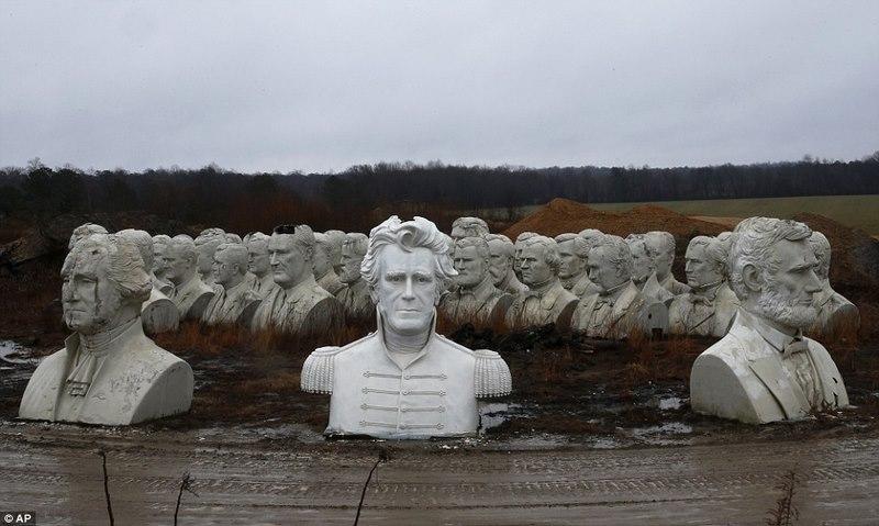 43 tượng Tổng thống Mỹ hơn 130 tỉ bị bỏ hoang - 2