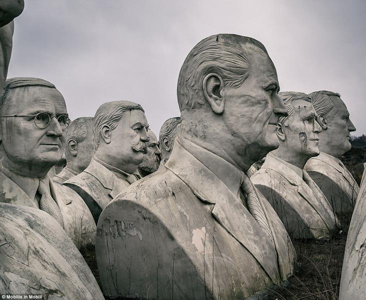 43 tượng Tổng thống Mỹ hơn 130 tỉ bị bỏ hoang - 3