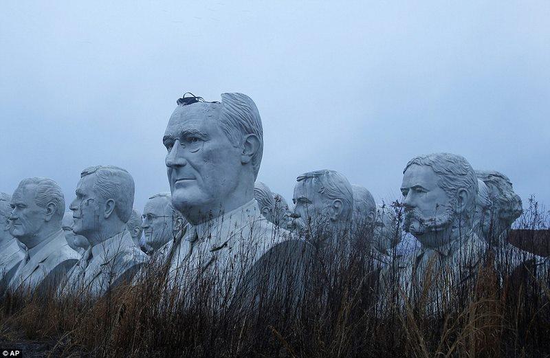 43 tượng Tổng thống Mỹ hơn 130 tỉ bị bỏ hoang - 5