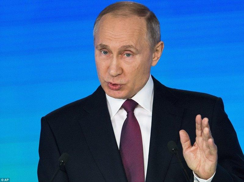 Putin công bố tên lửa hạt nhân Mỹ không thể đánh chặn - 1