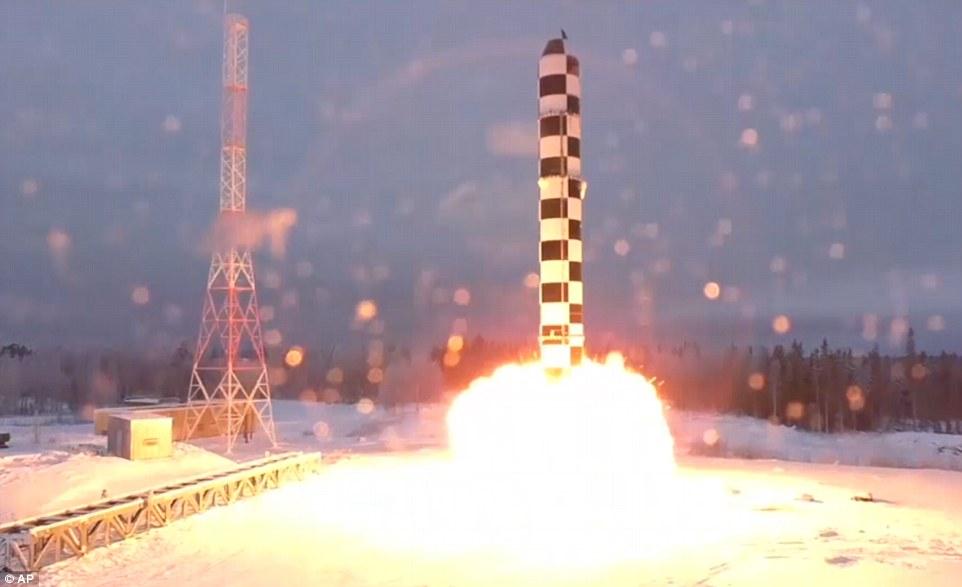 Putin công bố tên lửa hạt nhân Mỹ không thể đánh chặn - 3