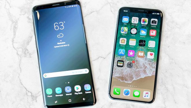 Galaxy S9 soán ngôi iPhone X, trở thành smartphone có màn hình đẹp nhất - 1