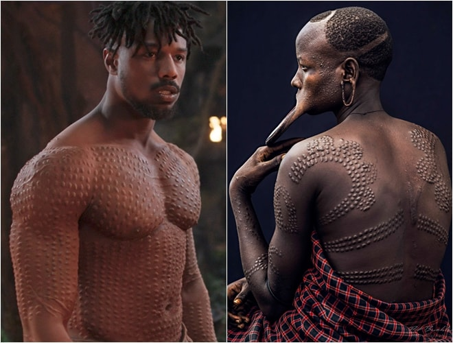 Tập tục làm đẹp khác lạ kích thích người xem trong Black Panther - 2