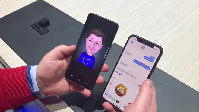 """Samsung chẳng """"tôn giáo"""" ý tưởng AR Emoji từ bỏ Animoji thứ Apple - 1"""