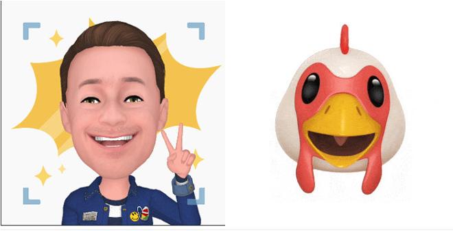 """Samsung chẳng """"tôn giáo"""" ý tưởng AR Emoji từ bỏ Animoji thứ Apple - 2"""
