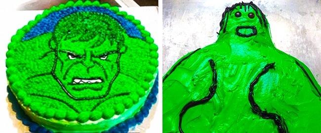 Ngay cả Even Hulk cũng rất ngạc nhiên về hình dáng của mình.