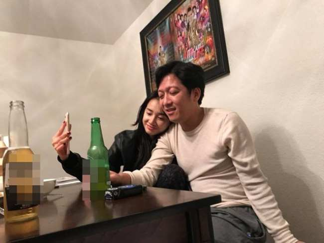 Nhã Phương yêu cầu Trường Giang không nhắc tên cô trên mặt báo - 1