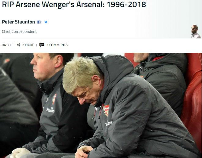 """Arsenal lại bị Man City """"hành hạ"""": Báo chí Anh hò nhau tiễn biệt Wenger - 5"""