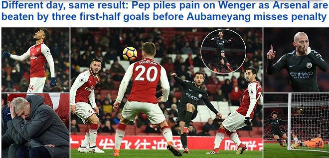 """Arsenal lại bị Man City """"hành hạ"""": Báo chí Anh hò nhau tiễn biệt Wenger - 3"""