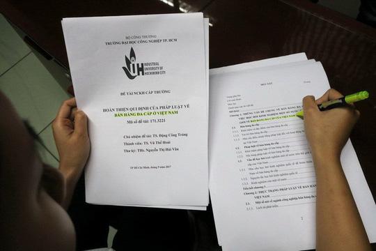 """Tân PGS bị tố """"đạo văn"""" xin rút tên khỏi danh sách PGS - 1"""
