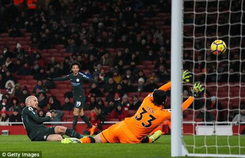"""Chi tiết Arsenal - Man City: """"Pháo thủ"""" được giải thoát (KT) - 4"""
