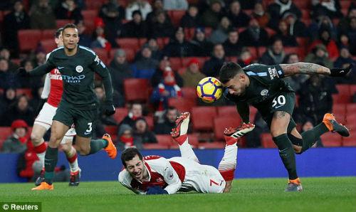 """Chi tiết Arsenal - Man City: """"Pháo thủ"""" được giải thoát (KT) - 7"""