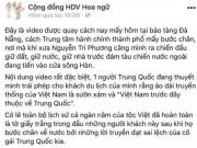 Truy tìm HDV du lịch Trung Quốc  xuyên tạc  áo dài truyền thống Việt