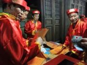 Những hình ảnh  không ngờ  tại lễ phát ấn đền Trần 2018