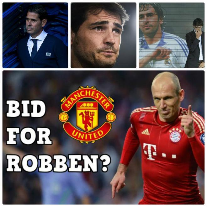 """""""Bom tấn"""" Robben đến MU: Thiên đường """"dưỡng già"""", Casillas - Raul ghen tị - 2"""