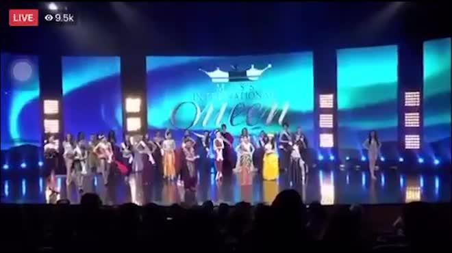 Hương Giang Idol thắng giải Tài năng tại Hoa hậu chuyển giới 2018