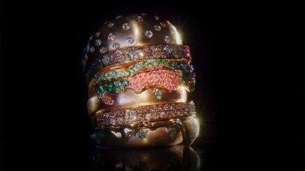 """""""Hamburger"""" nhỏ nhất TG, đính đầy kim cương, không ăn được nhưng có giá 284 triệu đồng - 2"""