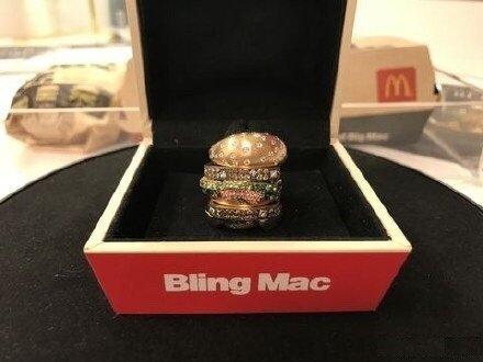 """""""Hamburger"""" nhỏ nhất TG, đính đầy kim cương, không ăn được nhưng có giá 284 triệu đồng - 3"""